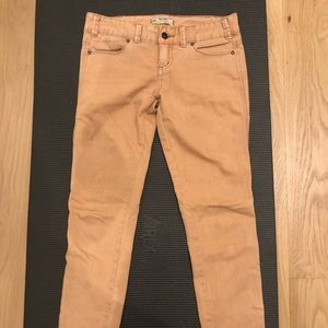 Free People - Skinny Jeans (apricot color)